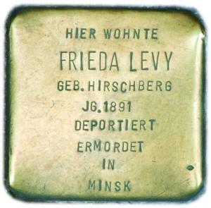 Frieda Levy 1891 - 1941