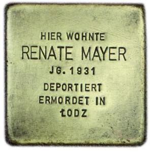 Renate Mayer 1931 - 1941