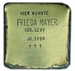 Frieda Mayer 1896 - 1942