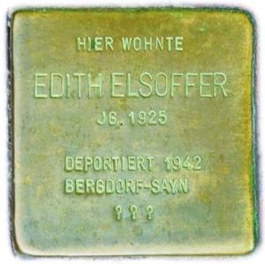 Edith Elsoffer 1925 - 1942
